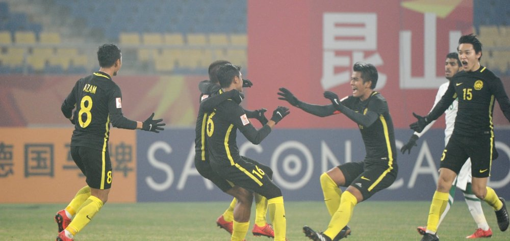 Thang U23 A Rap Xe Ut, U23 Malaysia cho U23 Viet Nam o tu ket hinh anh 1
