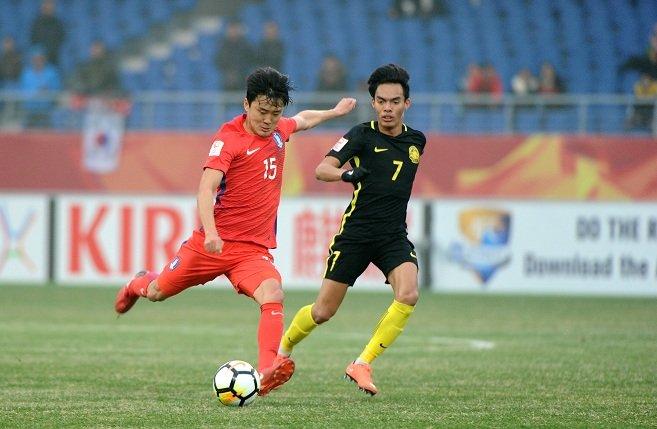Thua tiec nuoi U23 Han Quoc, U23 Malaysia dung buoc o tu ket U23 chau A hinh anh 1