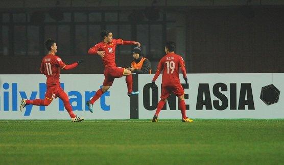 U23 Viet Nam viet tiep chuyen co tich, danh bai U23 Iraq, vao ban ket U23 chau A 2018 hinh anh 1