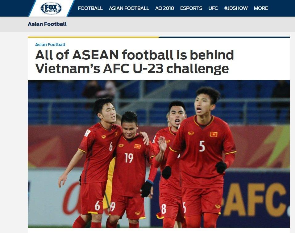 Bao quoc te: Ca Dong Nam A co vu U23 Viet Nam hinh anh 1