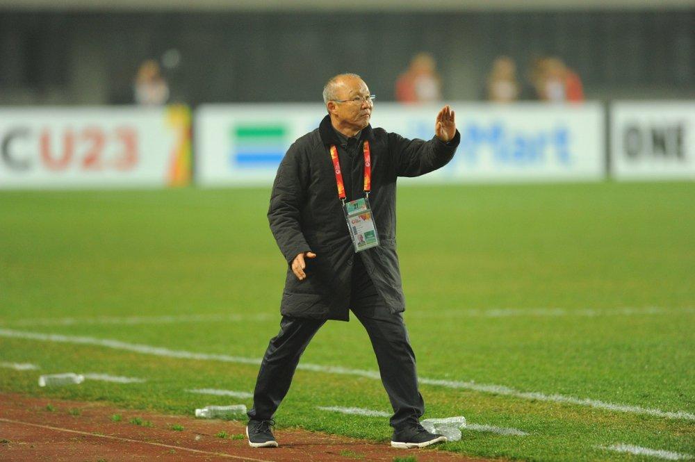 HLV Park Hang Seo: U23 Viet Nam co y chi tuyet voi, du suc vuot moi tro ngai hinh anh 1