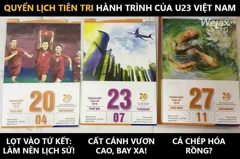 Xon xao bo lich tien tri U23 Viet Nam se vo dich chau A hinh anh 1