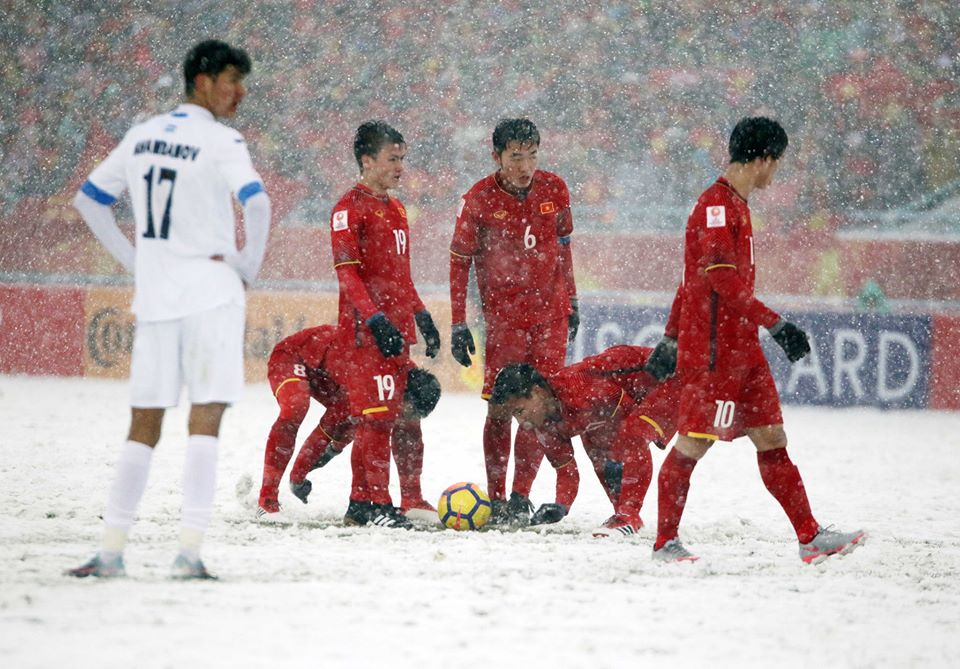 Xuan Truong bat mi cach uy lao tinh than U23 Viet Nam truoc chung ket the ky hinh anh 1