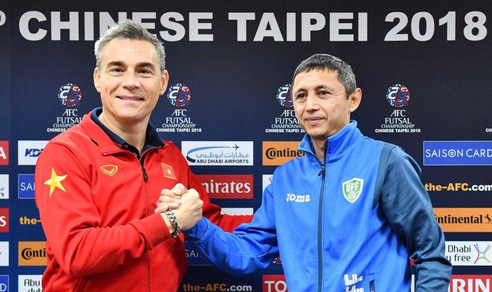 Futsal Uzbekistan quyet khong cho Viet Nam co hoi lam dieu ky dieu hinh anh 1