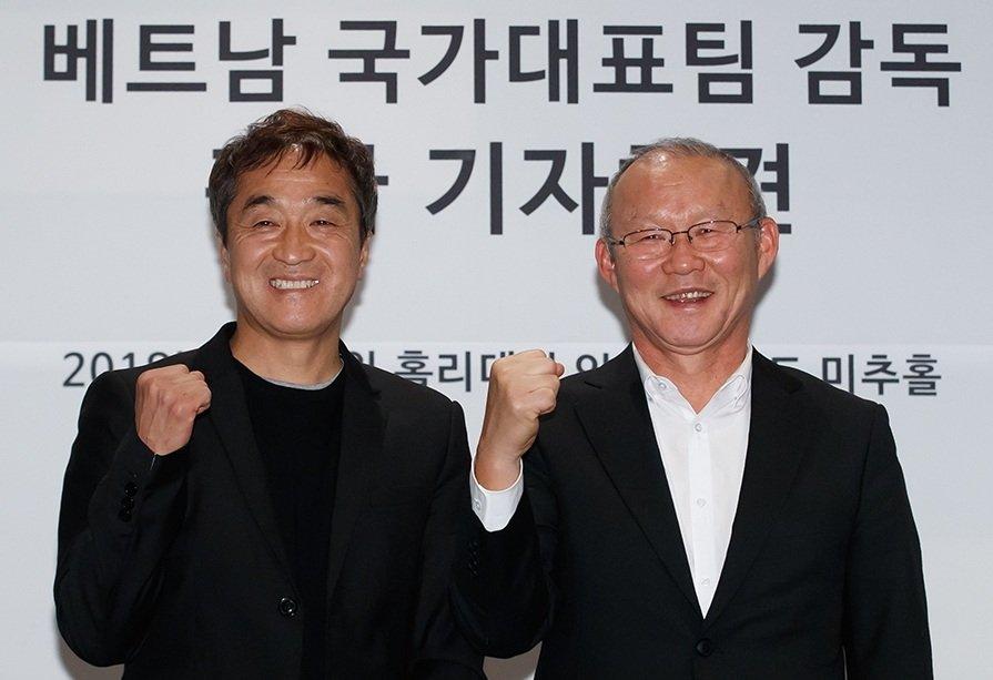 Park Hang Seo mo duong cho HLV Han Quoc den Viet Nam hinh anh 2