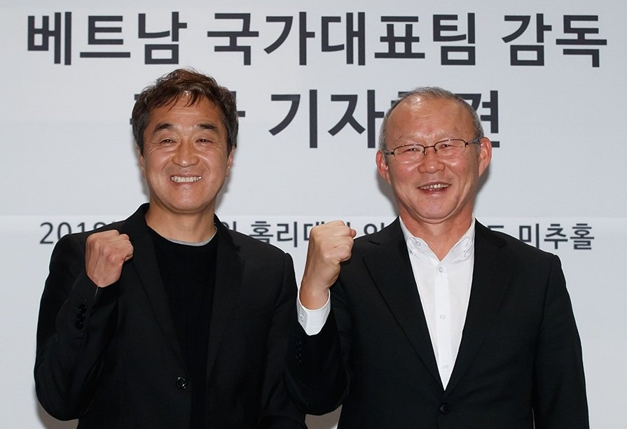 HLV Park Hang Seo 'dat show' ngay khi ve Han Quoc nghi Tet hinh anh 1