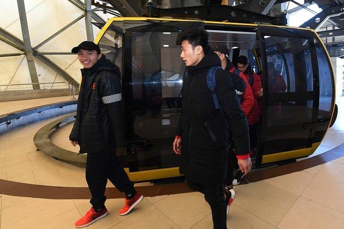 U23 Viet Nam thuong co tren dinh Fansipan, truyen lua chien thang cho tuyen nu Viet Nam hinh anh 10