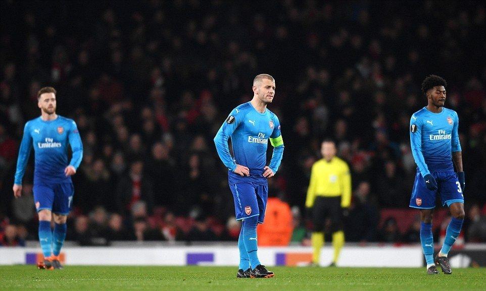 Thua 2 ban trong 70 giay, Arsenal suyt 'nem trai dang' o cup C2 hinh anh 1
