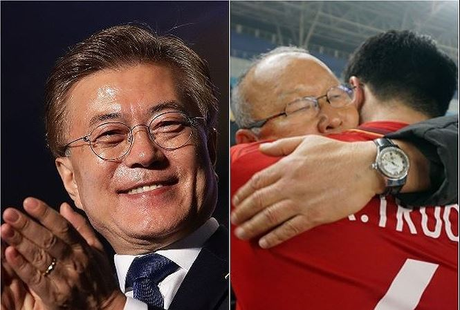 Tong thong Han Quoc du kien gap HLV Park Hang Seo tai Viet Nam hinh anh 1