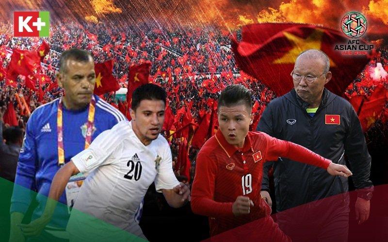 Trực tiếp Jordan vs Việt Nam