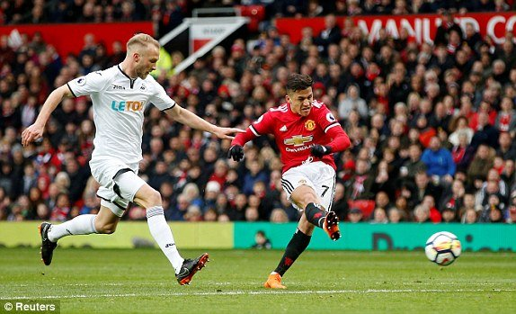 Sanchez bung no, MU de dang danh bai Swansea hinh anh 1