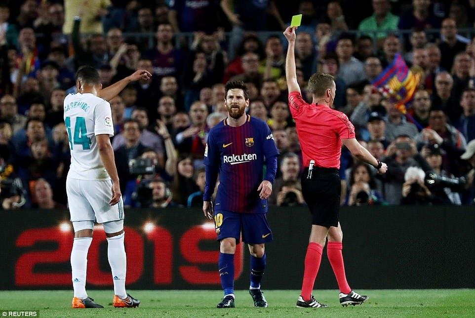 Ramos to Messi gay suc ep len trong tai tran Sieu kinh dien hinh anh 1