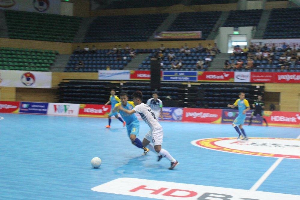Futsal HDBank VDQG 2018: Duong kim a quan thua tran ra quan hinh anh 1