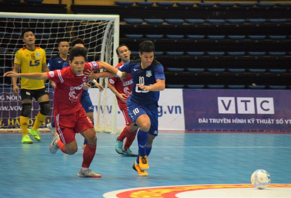 Futsal HDBank VDQG 2018: Thai Son Nam vung ngoi dau hinh anh 1
