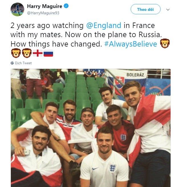 Lan dau du World Cup, sao tuyen Anh xuc dong khoe giac mo thanh hien thuc hinh anh 4