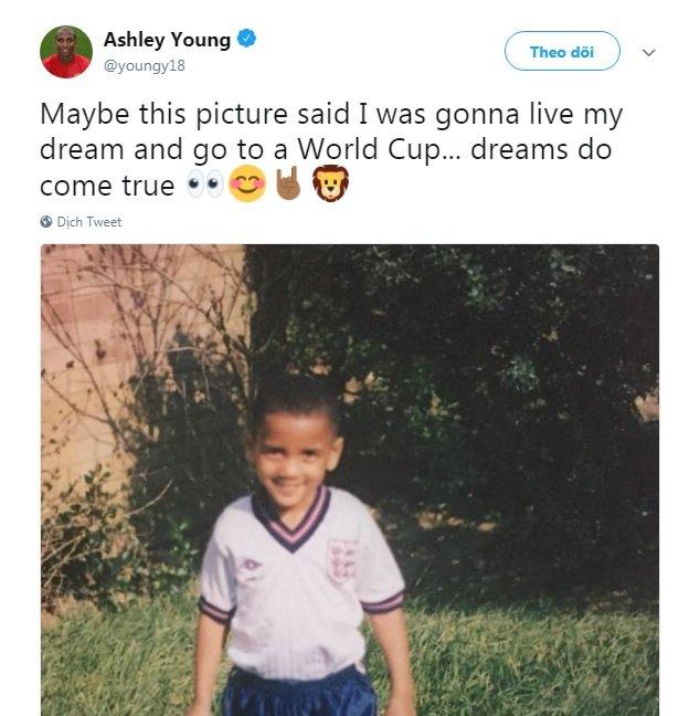 Lan dau du World Cup, sao tuyen Anh xuc dong khoe giac mo thanh hien thuc hinh anh 3
