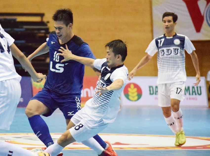 Futsal HDBank VDQG 2018: Hai Phuong Nam DHGD chia diem voi Thai Son Nam hinh anh 1