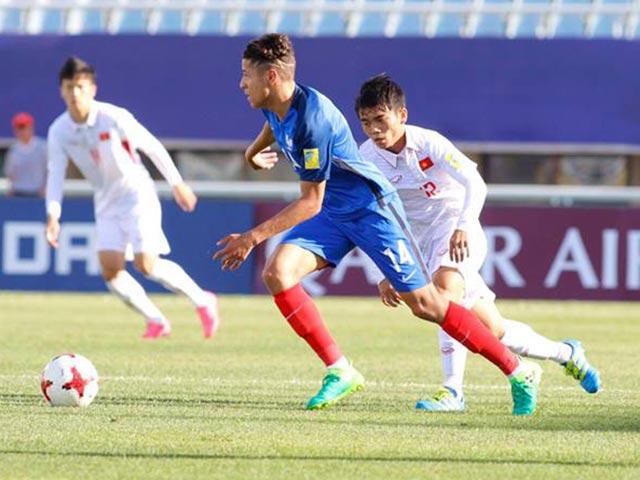 Tung doi dau U20 Viet Nam, tien ve U20 Phap du World Cup cung... Maroc hinh anh 1