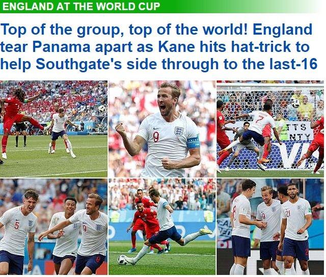 Vui dap Panama, tuyen Anh duoc truyen thong dua len dinh the gioi hinh anh 1