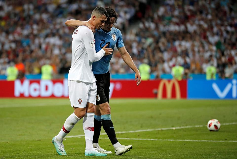 Bi loai khoi World Cup, Ronaldo duoc ca ngoi het loi voi hanh dong cao thuong hinh anh 3