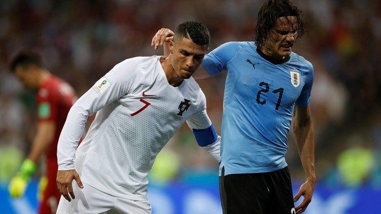 Bi loai khoi World Cup, Ronaldo duoc ca ngoi het loi voi hanh dong cao thuong hinh anh 1