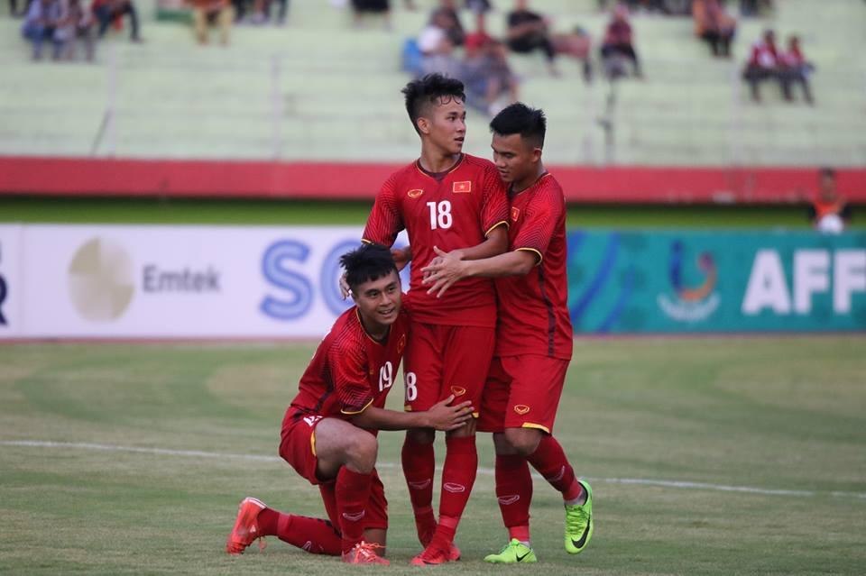 De bep U19 Philippines, U19 Viet Nam thang tran dau tien tai VCK U19 Dong Nam A hinh anh 1