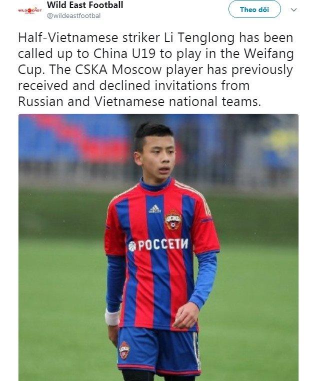 Cau thu goc Viet chon khoac ao U19 Trung Quoc hinh anh 2