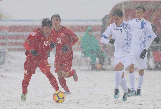 Xem truc tiep U23 Viet Nam vs U23 Uzbekistan tren kenh nao? hinh anh 1