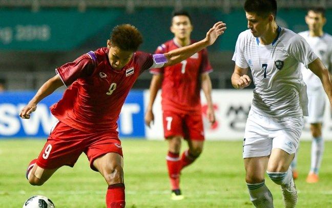 Khong thang noi 1 tran, Olympic Thai Lan cay dang chia tay ASIAD hinh anh 1