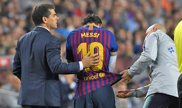 Messi chan thuong nghi 3 tuan, lo tran Sieu kinh dien dau tien trong mua giai hinh anh 2