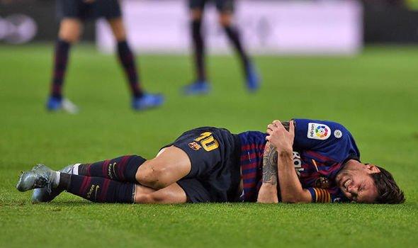 Messi chan thuong nghi 3 tuan, lo tran Sieu kinh dien dau tien trong mua giai hinh anh 1