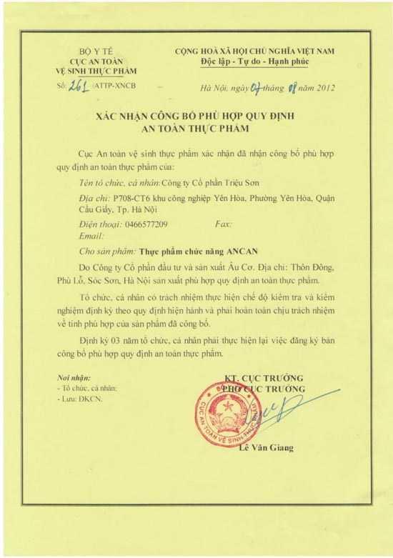 Thuc pham chuc nang Ancan het han giay phep quang cao nhung van 'no' nhu 'than duoc' hinh anh 3