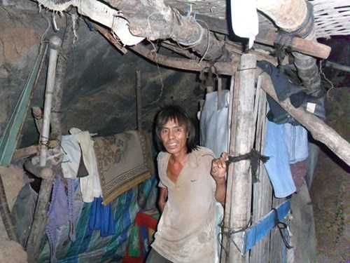 Chuyen nguoi gian vo bo nha dao hang song nhu nguoi tien su o Quang Ngai hinh anh 1
