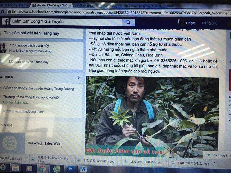 """Nha thuoc ma"" Hoang Trung Duong va tro lua cua nhung ke buon thuoc qua Facebook hinh anh 5"