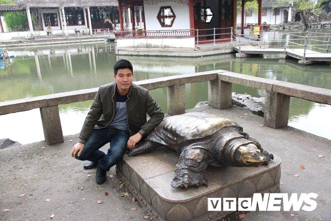 Thong tin bat ngo: Quay luoi phat hien rua Ho Guom khong lo o Son Tay hinh anh 5