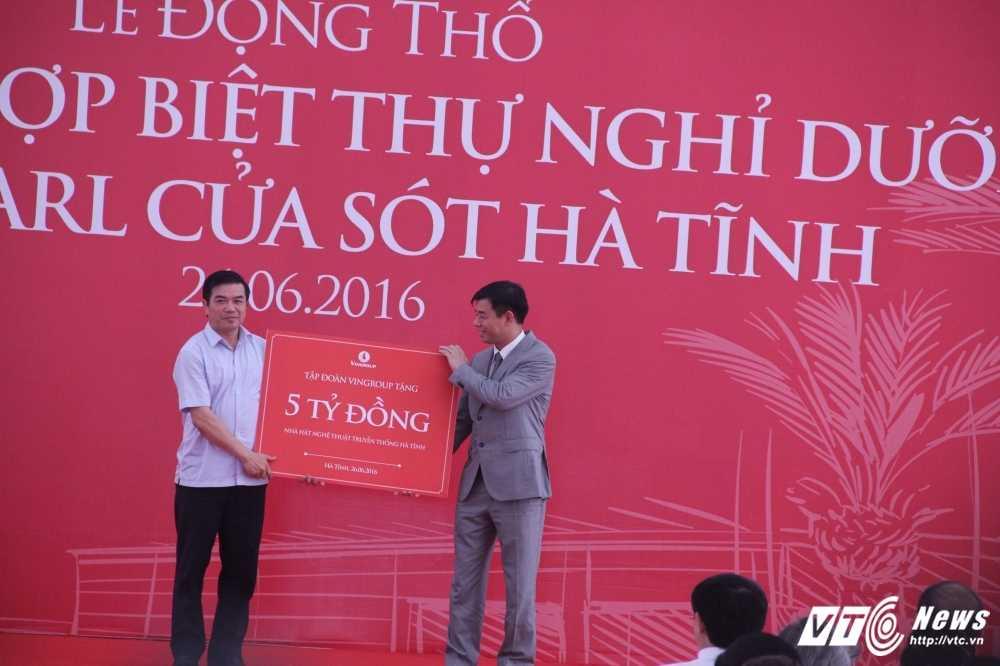 VinGroup khoi cong to hop biet thu nghi duong dang cap tai Ha Tinh hinh anh 3