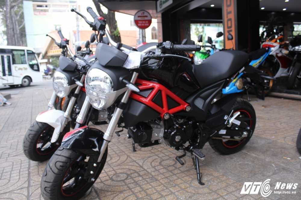 Su that ve 'sieu xe' Ducati Monster 110 gia 30 trieu dong o Viet Nam hinh anh 8