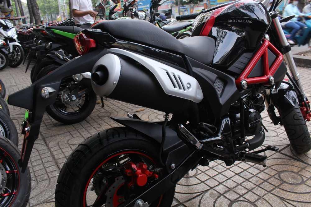 Su that ve 'sieu xe' Ducati Monster 110 gia 30 trieu dong o Viet Nam hinh anh 2