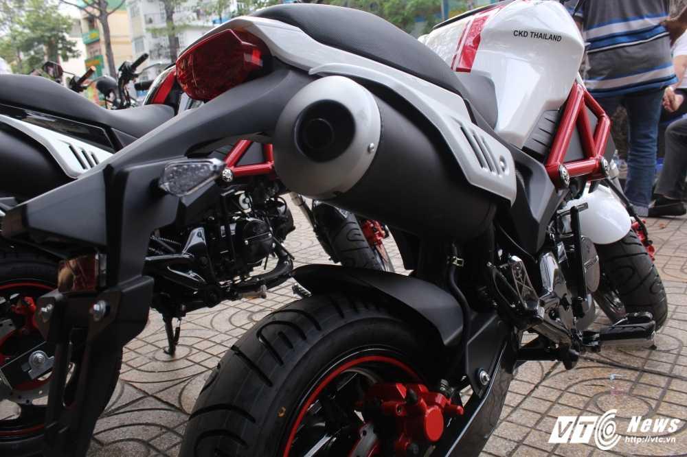 Su that ve 'sieu xe' Ducati Monster 110 gia 30 trieu dong o Viet Nam hinh anh 4