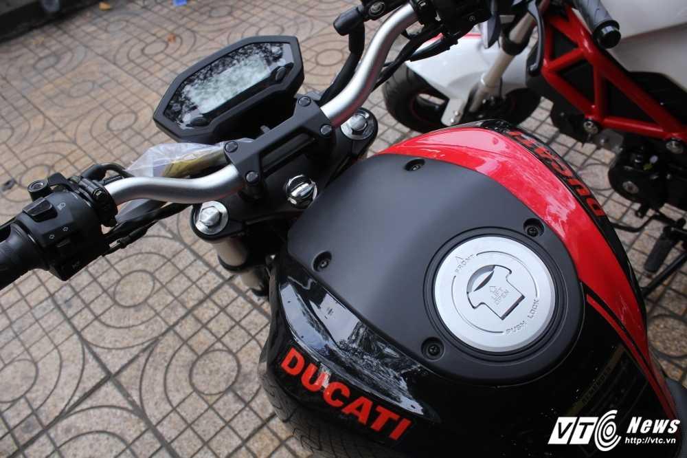 Su that ve 'sieu xe' Ducati Monster 110 gia 30 trieu dong o Viet Nam hinh anh 6