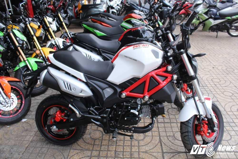 Su that ve 'sieu xe' Ducati Monster 110 gia 30 trieu dong o Viet Nam hinh anh 1