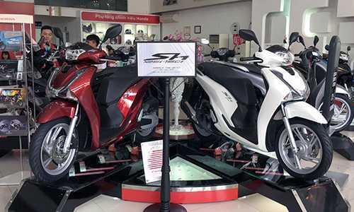 Honda SH 2017 loan gia tu Bac vao Nam hinh anh 1