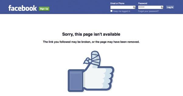 Vi sao cac fanpage Facebook sap hang loat? hinh anh 1