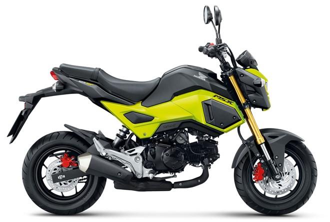 Honda MSX 125SF 2017 them mau moi va he thong phanh ABS, gia 46 trieu dong hinh anh 1