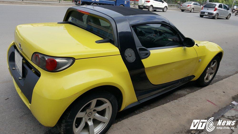 'Cua hiem' Smart Roadster gia 340 trieu dong: Ti hon nhu o to mo hinh hinh anh 4