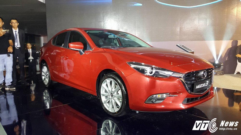 Mazda3 2017 chinh thuc ra mat tai Viet Nam, gia khoi diem 690 trieu dong hinh anh 1