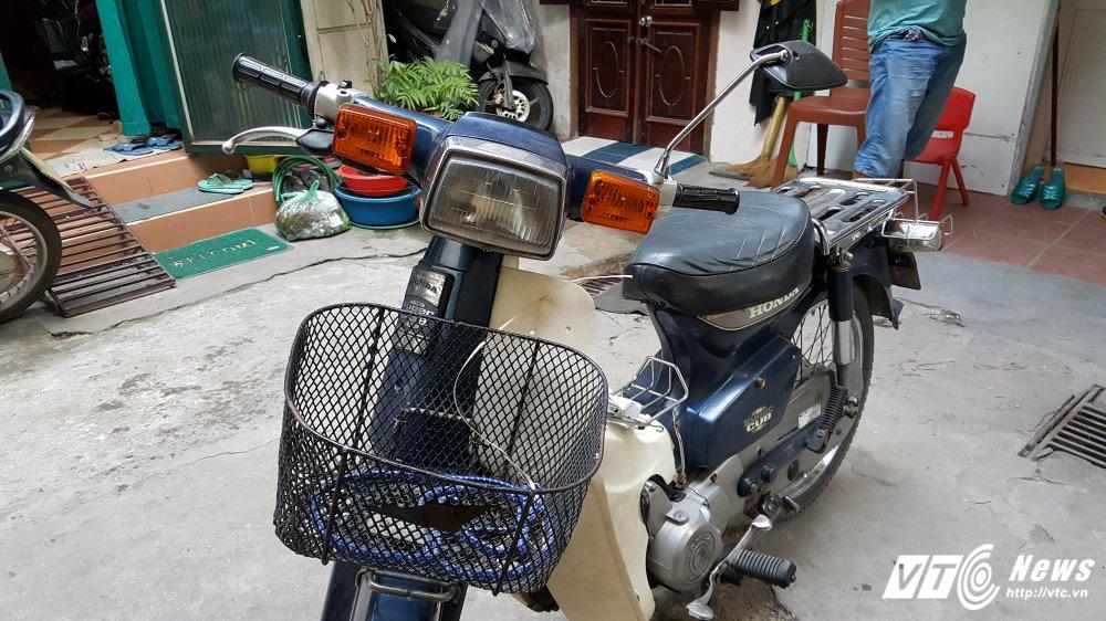 Honda Super Cub 'dong nat' cua cuu thieu gia Ha Thanh het gia 40 trieu dong hinh anh 3