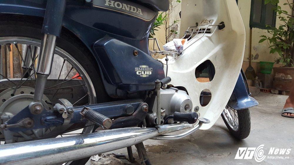 Honda Super Cub 'dong nat' cua cuu thieu gia Ha Thanh het gia 40 trieu dong hinh anh 5