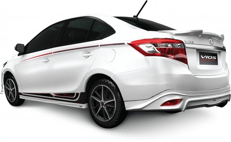 Toyota Vios TRD 2017 chinh thuc ban tai Viet Nam, gia 644 trieu dong hinh anh 2