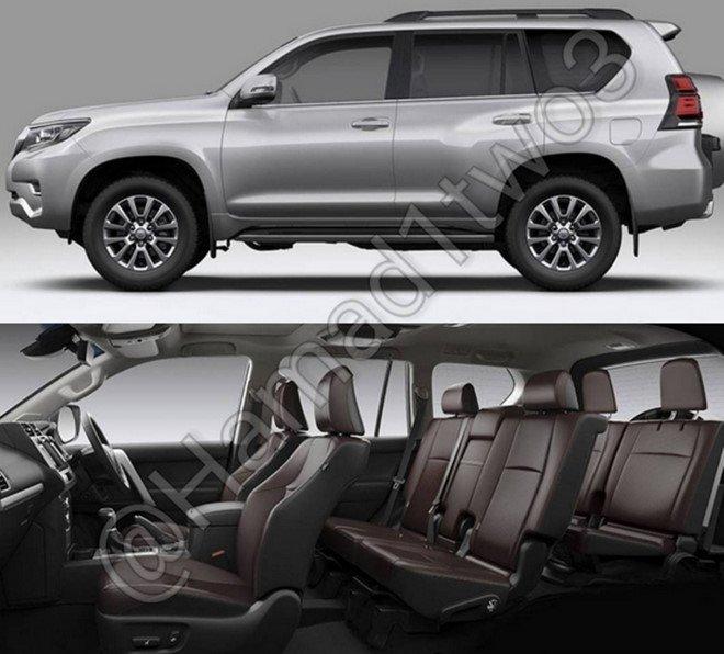 Ro ri hinh anh Toyota Land Cruiser Prado 2018, ra mat mua thu nam nay hinh anh 2